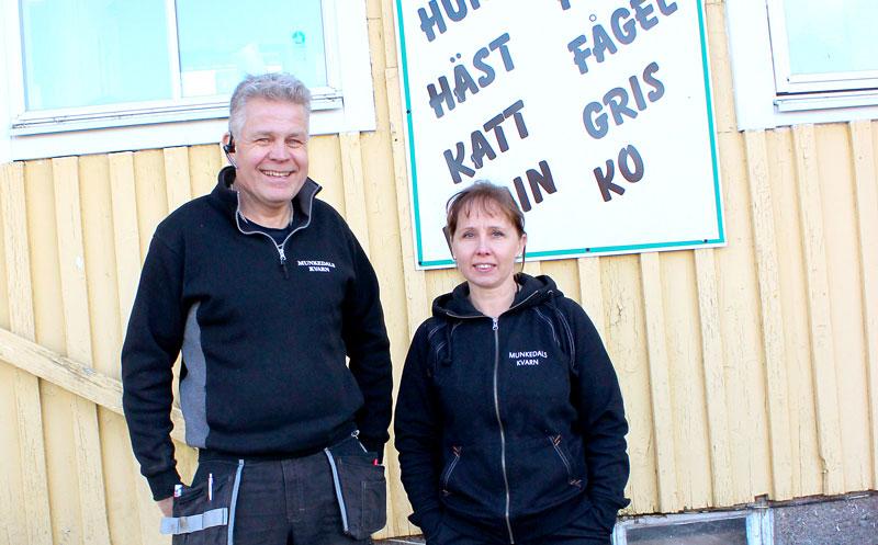 De nya ägarna av Munkedals Kvarn
