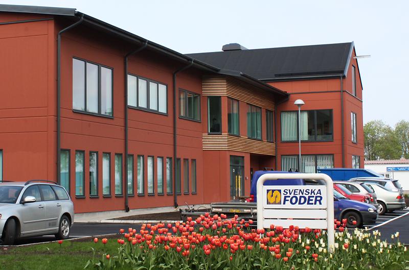 Svenska Foders Huvudkontor i Lidköping