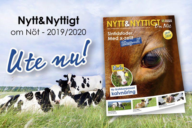 Banner för tidningen Nytt & Nyttigt om Nöt