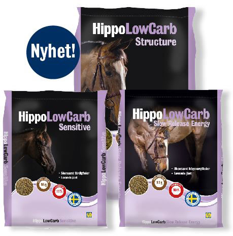 # säckar på HippoLowCarb-familjen