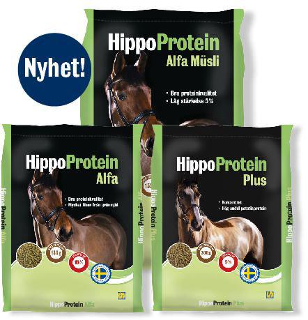 3 säckar på HippoProtein-familjen