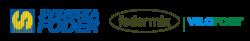 Logotyper för Svenska Foder, Fodermix, Vilofoss