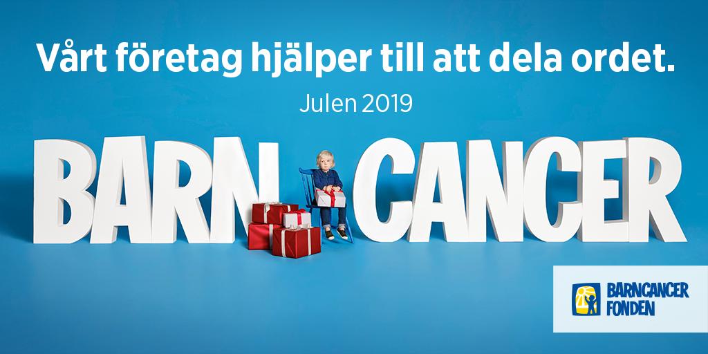Banner Barncancerfonden 2019