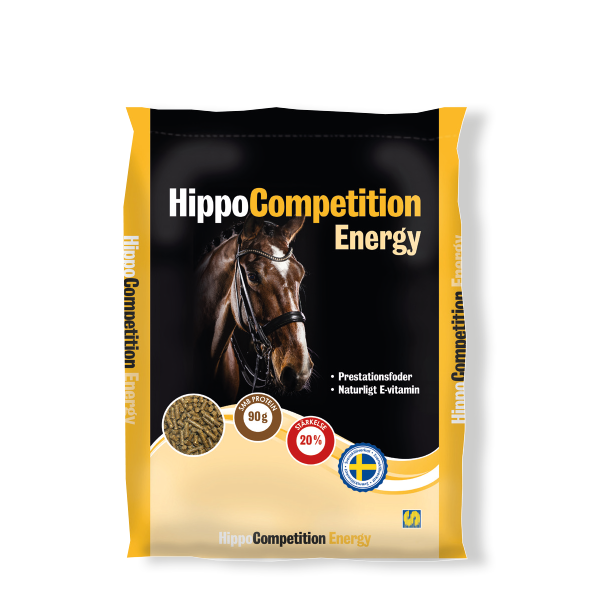 Säck med HippoCompetition Energy