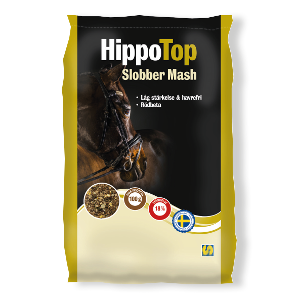Säck med HippoTop Slobber Mash