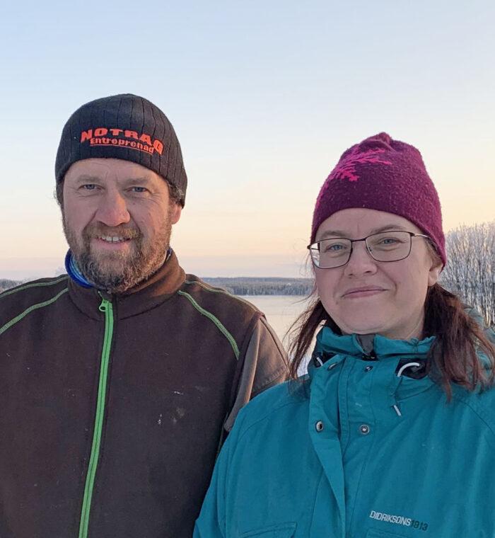 Simon och Magdalena Sundell