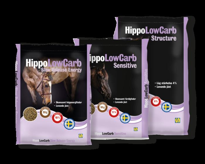 HippoLowCarb-säckar