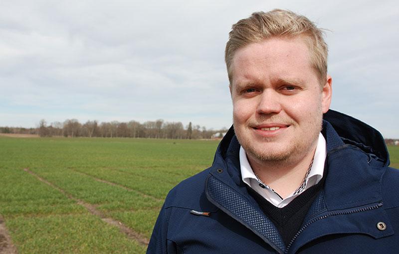 Oskar Gustafsson produktchef på Scandinavian Seed