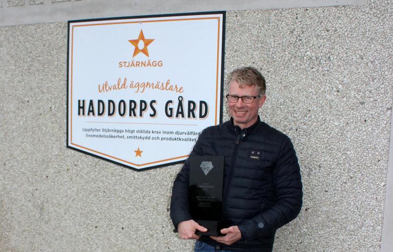 Robert Emanuelsson på Haddorps Gård