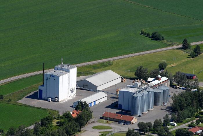 Svenska Foders fabrik i Västerlösa