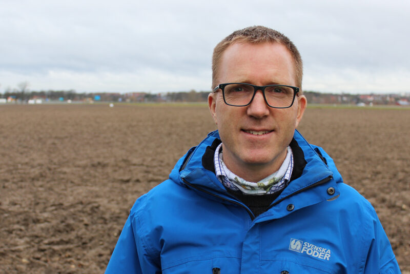 Lars Olsen växtodlingsrådgivare DLG