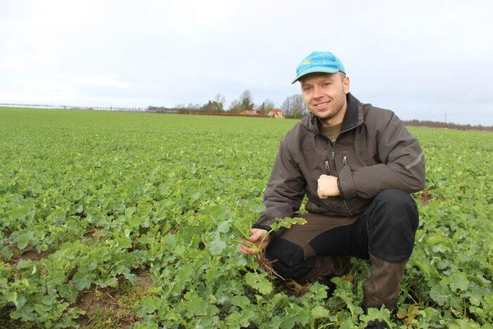 Allan Jensen är lantbrukare på familjverksamheten Askelygaard, i närheten av Roskilde