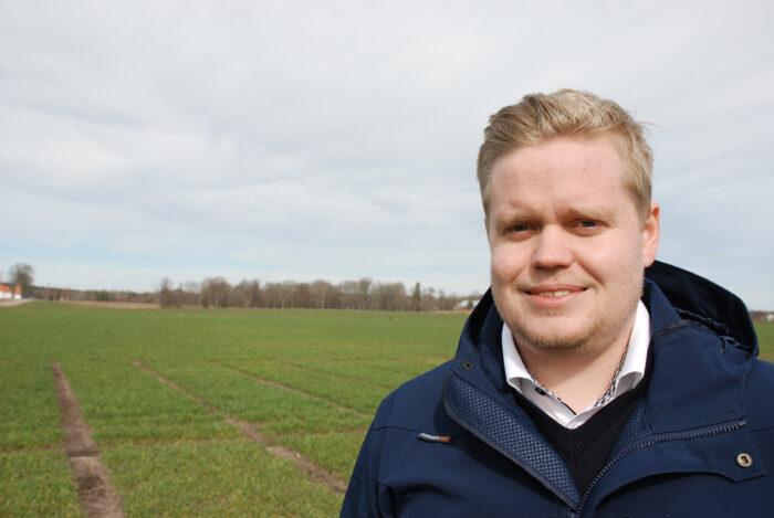 Oskar Gustafsson, produktchef Scandinavian Seed