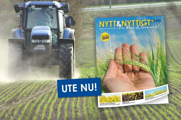 Nytt & Nyttigt om Växt & Spannmål ute nu!