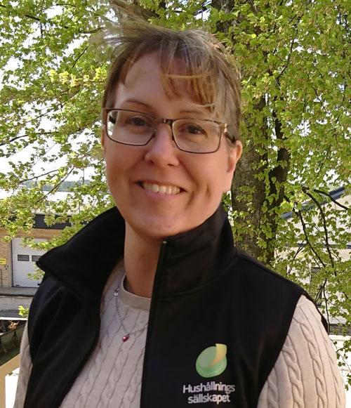 Karin Carlsson som är nationell samordnare för Farmer Time i Sverige