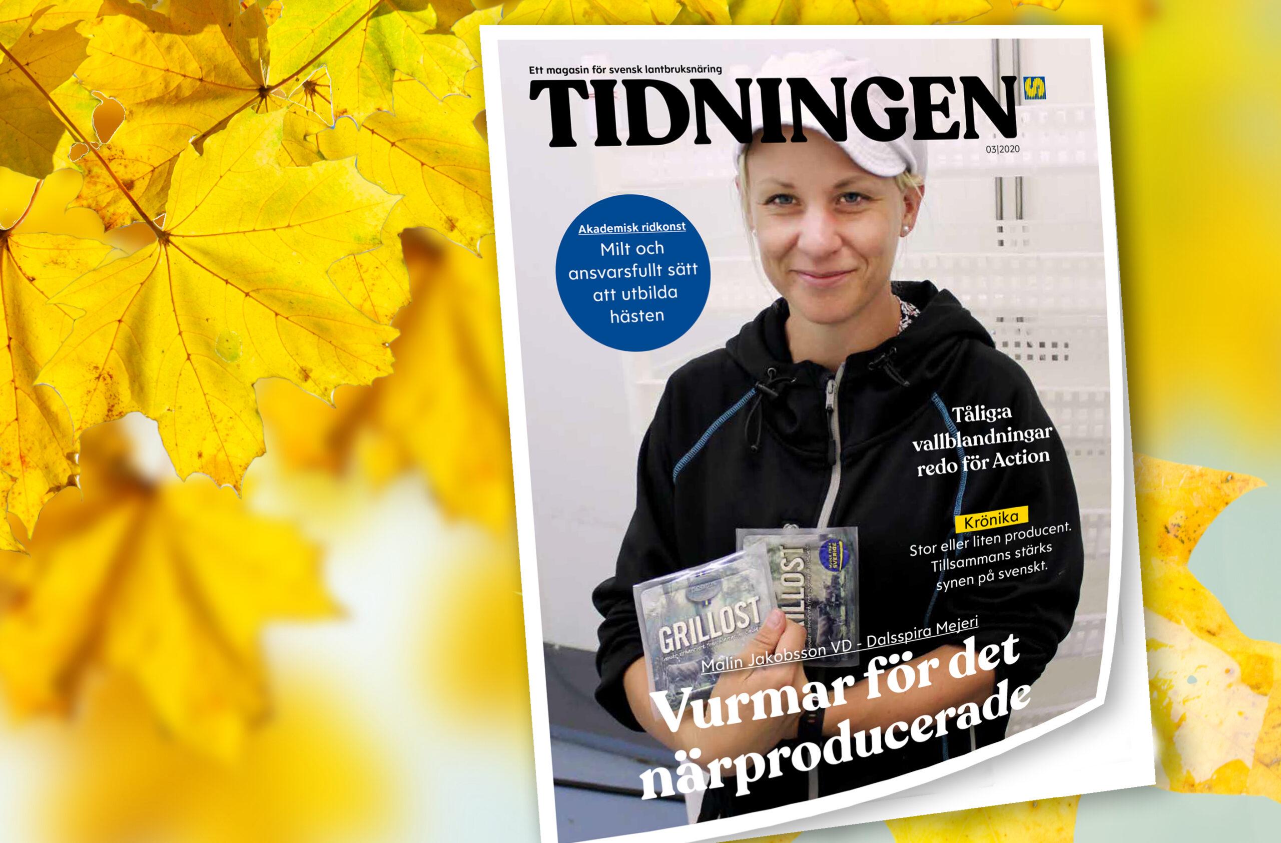 Tidningen nr 3 2020 - ett magasin för svensk lantbruksnäring