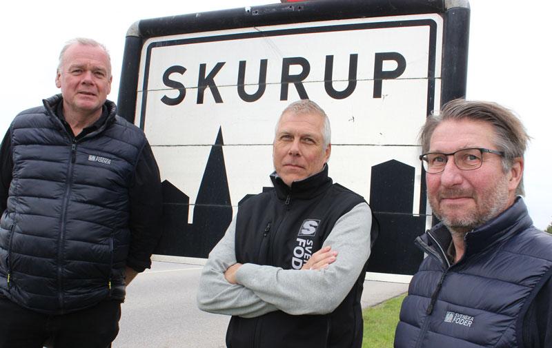 Bild på Svenska Foders växtsäljare