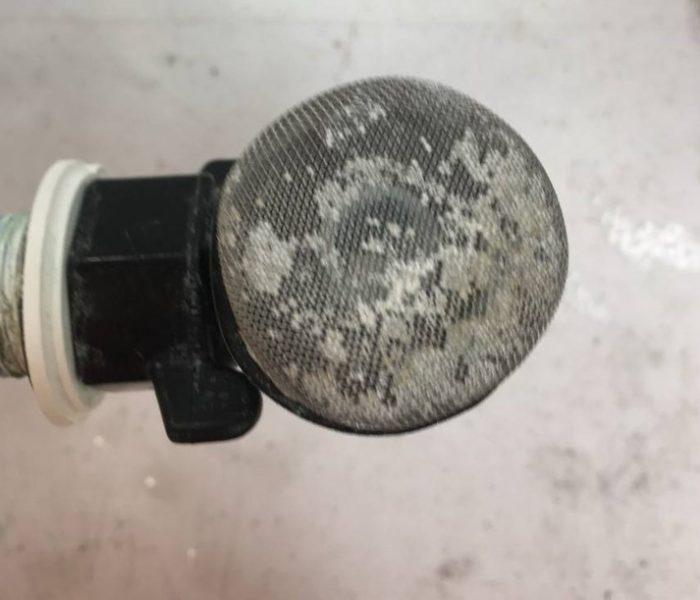 Exempel på dåligt rengjord utrustning