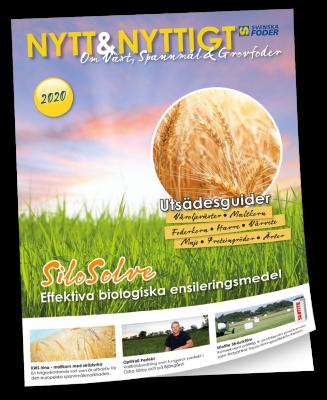 Framsida Nytt & Nyttigt om Växt, Spannmål & Grovfoder