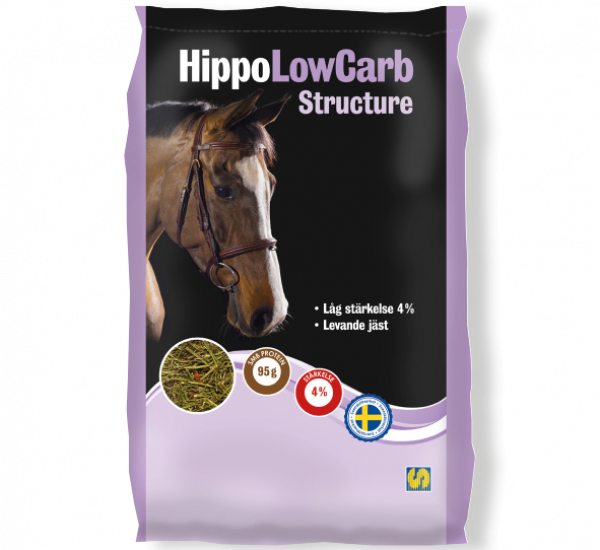 Säck med HippoLowCarb Structure